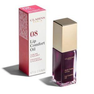 Clarins Instant Light Lip Comfort Oil- 08